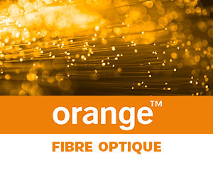 Fibre Optique Orange